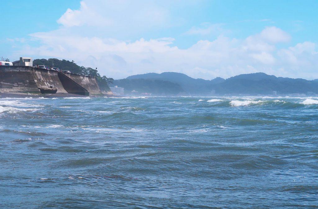 七里ガ浜対比写真