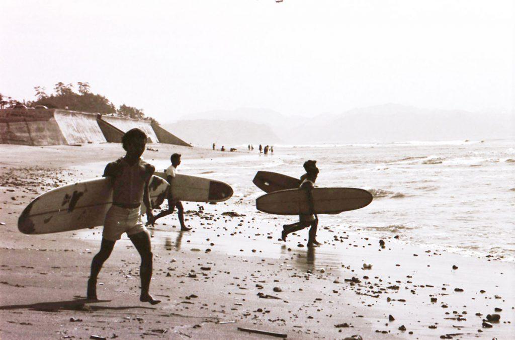 1968年全日本サーフィン大会@七里ガ浜